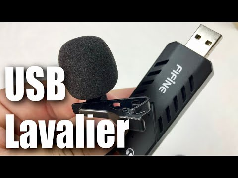 USB Lavalier Lapel Microphone by FIFINE Review