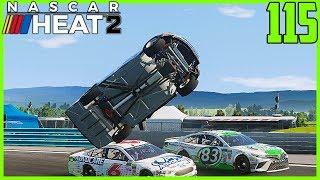 BOAT SETUP+WATKINS GLEN=BAD IDEA - NASCAR Heat 2 Career Mode  22/36  S4. Episode 115