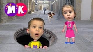 Мультик про собаку. СЕРИЯ 2. Как Мистер Макс спас Мисс Кети.  How Mr. Max saved Kety.