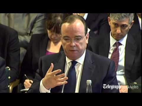 HSBC boss apologises to MPs over Swiss bank claims