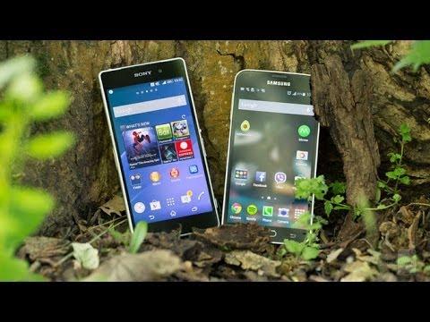 Samsung Galaxy S5 vs Sony Xperia Z21