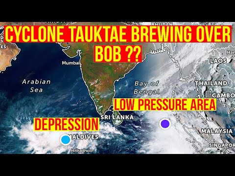 Cyclone Tauktae brewing over Bay of Bengal? |  Depression over Arabian Sea - 29 Mar 2021