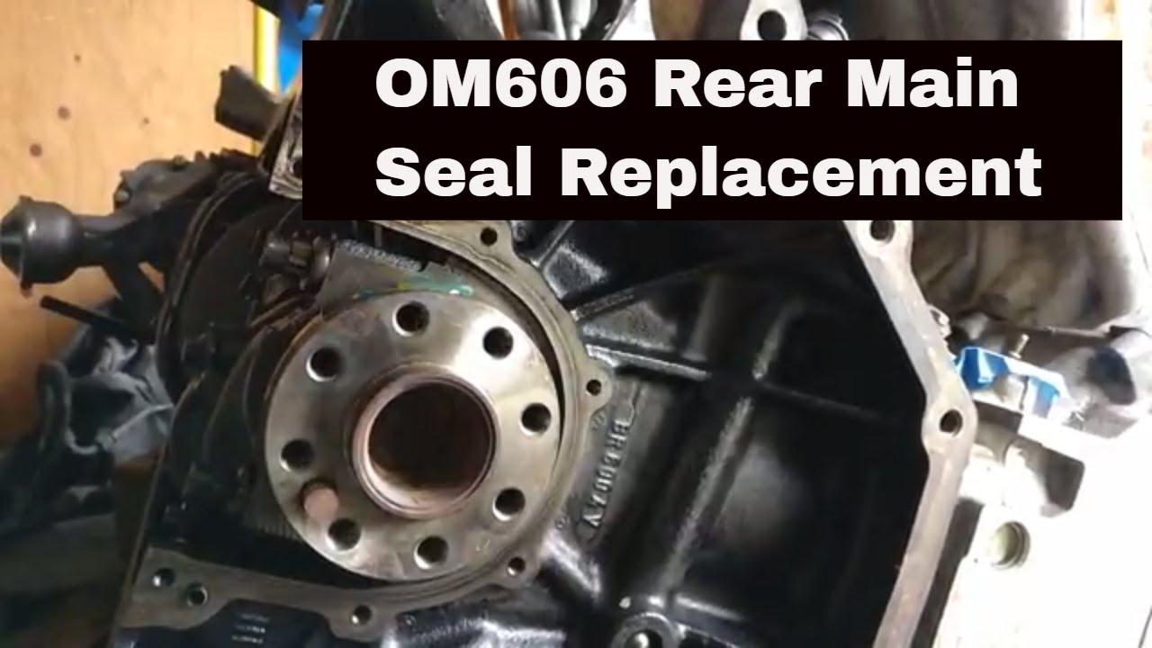 2017 Honda Odyssey >> OM606 Swap.2: Rear Main Seal Replacement - YouTube