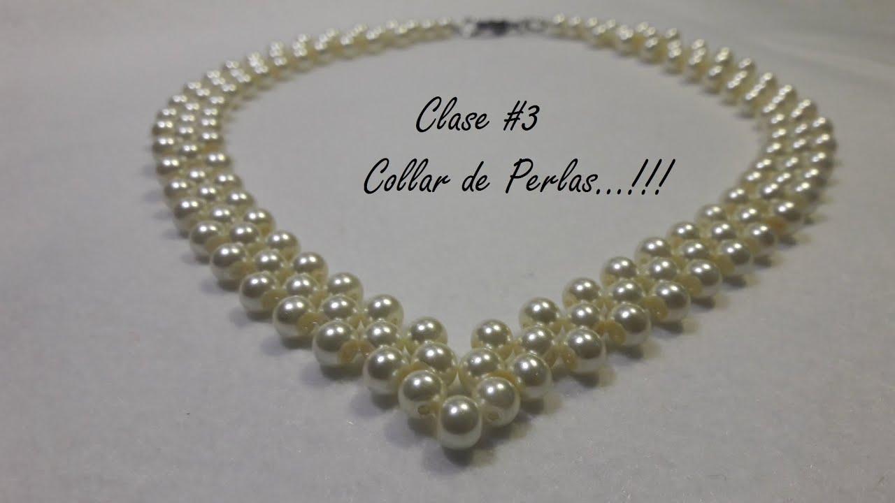 Collar De Perlas...!!!(Clase #3)