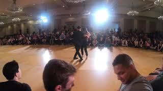 West Coast Swing Dance | Byron Brunerie + Saya Suzaki | Allstar J&J - Summer Hummer 2019