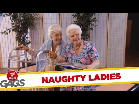 Naughty Old Lady Dancing - Throwback Thursday