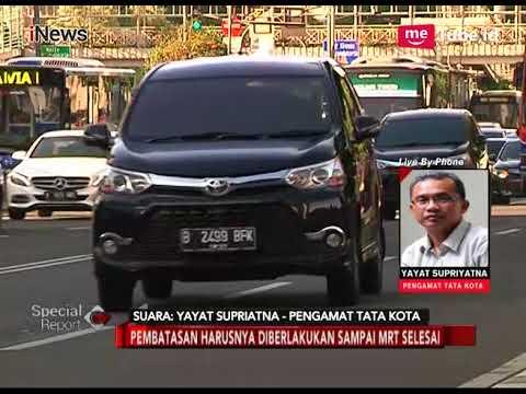 Pengamat Tata Kota: Pencabutan Larangan Motor Harusnya Tunggu MRT Selesai - Special Report 11/01