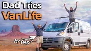 Can My Dad Survive 3 Weeks of Van Life with Me? (Epic Roadtrip)