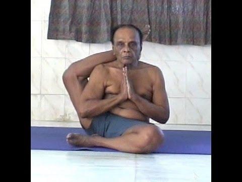Guruji Dr. Asana Andiappan's Yoga Practice Video at the age of 82