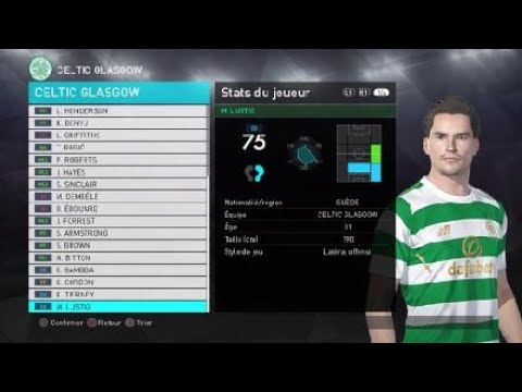 [pes-2018]-celtic-fc-created-players-stats