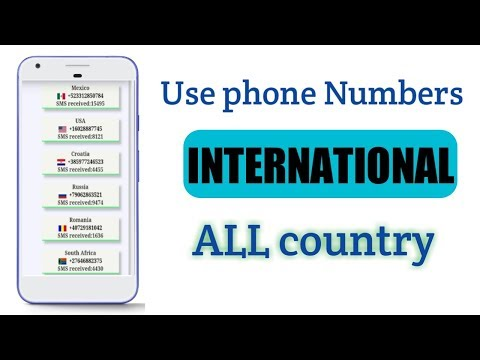 How To Get Free Phone Number Receive SMS Verification 2019.. #newsmartbihar
