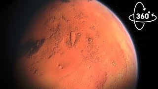 MARS: THE RED PLANET IN 360 VR!
