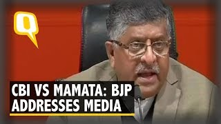 Why is a Police Chief Sitting on Dharna With Politicians, Asks BJP on Mamata Vs CBI