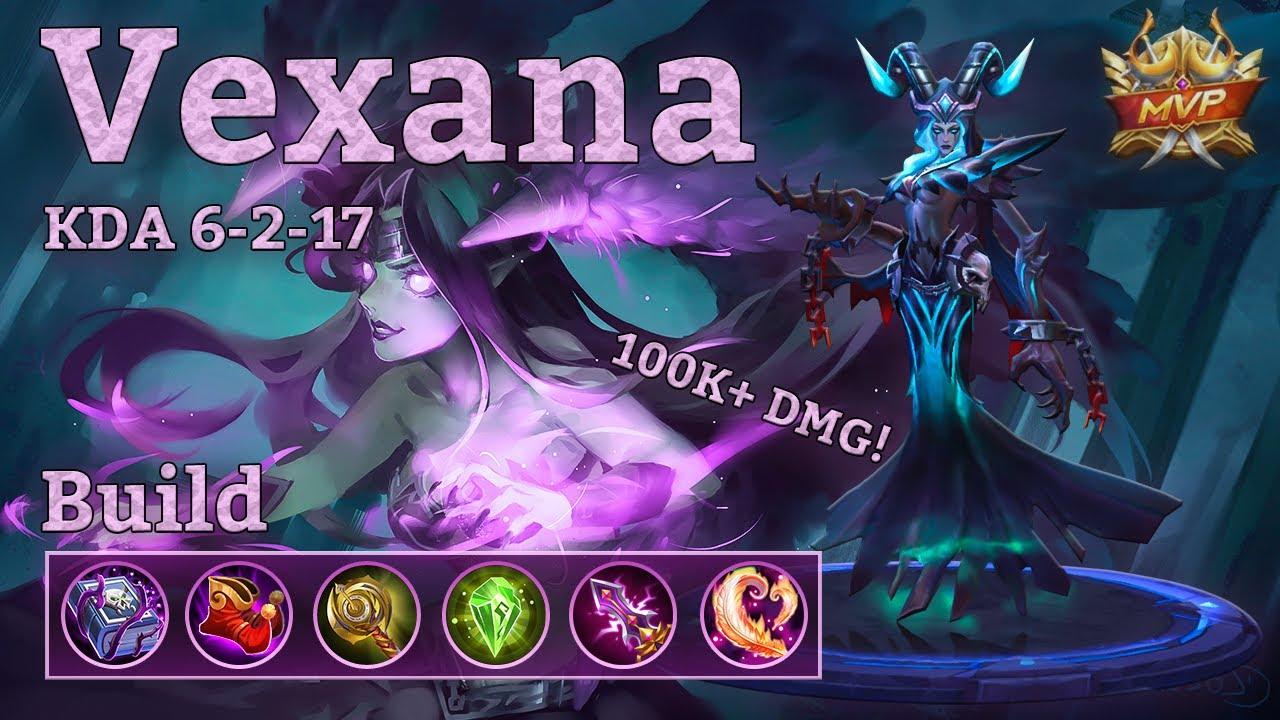 mobile legends: vexana mvp, ranked insanity! 100k+ damage!