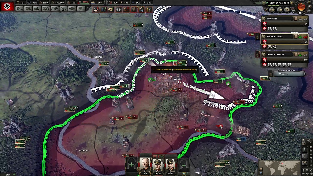 Hearts of Iron 4 MP - Horstorical Multiplayer Mod - Germany
