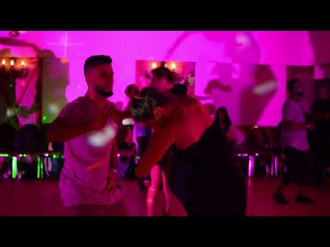 Charles and Eglantine zouk social dancing at CZKBC