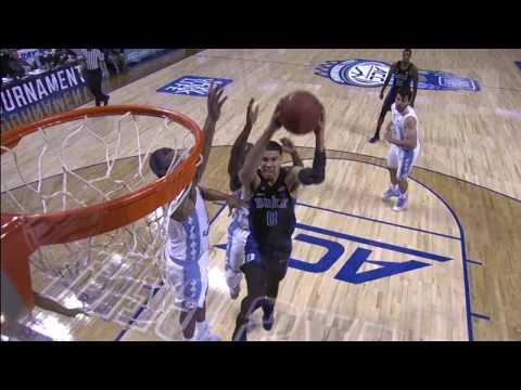 Top Plays: Duke 93-UNC 83 (3/10/17)