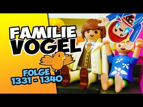 Playmobil Filme Familie Vogel: Folge 1331-1340 Kinderserie | Videosammlung Compilation Deutsch