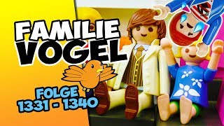 Playmobil Filme Familie Vogel: Folge 1331-1340 Kinderserie   Videosammlung Compilation Deutsch
