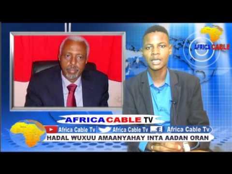 QODOBADA WARKA AFRICA CABLE TV BY MAXAMED YAASIN MAHDI ALFA 19 7 2017
