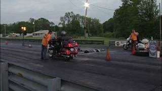 Goldwing Drag Racing