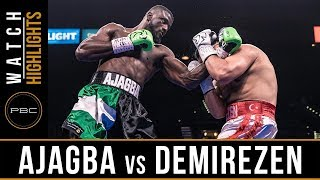 Ajagba vs Demirezen Highlight: July 20 PBC on Fox