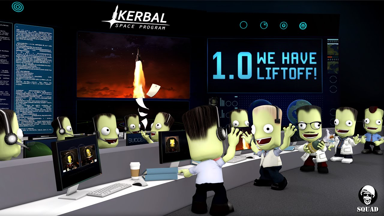 Kerbal Space Program 1.0 Launch - YouTube