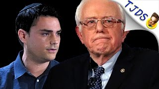 Dumb Right Winger Tries Bashing Bernie Gets Immediately Owned