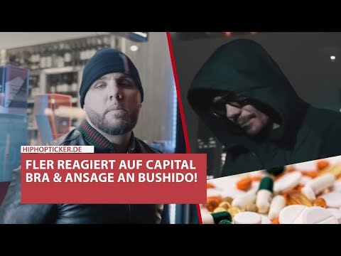 Fler antwortet Capital Bra & Ansage an Bushido! - Drogenkonsum, kranke Person