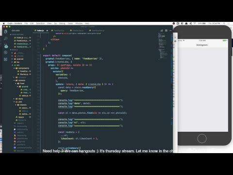 LiveStreaming, building my new tutorial with Phoenix-Elixir, Graphql &  React-Native