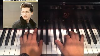 Charlie Puth ft. Meghan Trainor: Marvin Gaye (Piano Cover + Tutorial + Sheets)