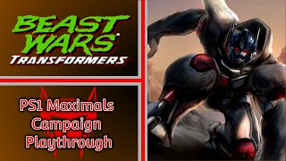 Beast Wars Transformers PS1 | Maximals Campaign Playthrough
