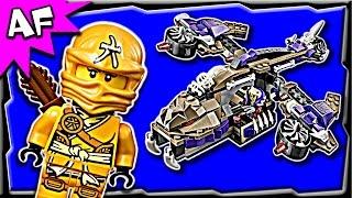 Lego Ninjago CONDRAI COPTER Attack 70746 Anacondrai Jungle Stop Motion Build Review