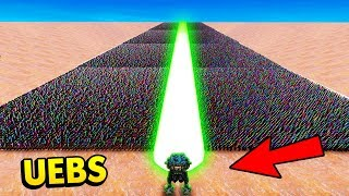 THE MASSIVE GREEN LASER SHOOTS THROUGH ANYTHING! (UEBS / Ultimate Epic Battle Simulator Gameplay)