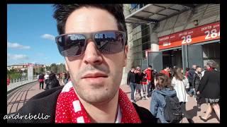 (4k 60fps) O JOGO/VLOG Benfica 1 x 0 Moreirense! Acabou! Jogo muito faltoso!
