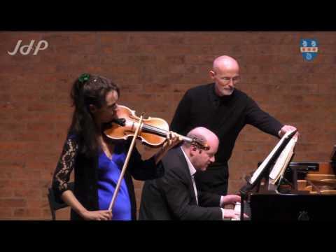Brahms: Violin Sonata No. 2 in A major, Op.100 (Sara Trickey and Daniel Tong) at the JdP