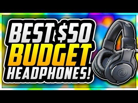 🎧 TOP 5 BEST BUDGET HEADPHONES UNDER $50 IN 2018! BEST BUDGET HEADPHONES FOR YOUTUBERS! 🎧