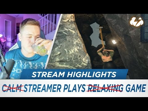 Streamer Plays Game [Stream Highlights - Getting Over It Pt. 2]