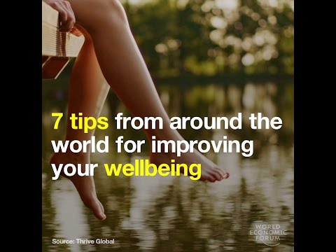 7 tips from around the world for improving your wellbeing