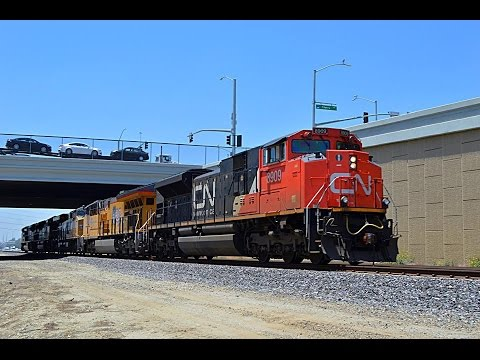 BNSF and Union Pacific around Riverside County