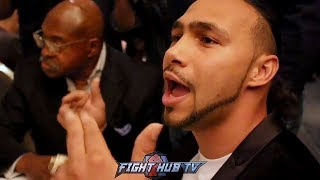 """KEITH THURMAN CONFRONTED ON DUCKING ERROL SPENCE! RESPONDS """"I'VE NEVER SEEN A CONTRACT!"""""""