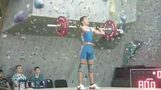 Чуба Макар, 15 лет, вк 56 Толчок 80 кг