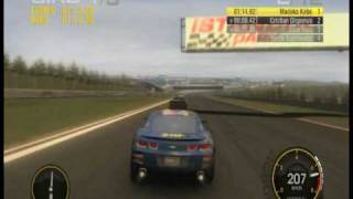 Race Driver GRID PC Gameplay Nvidia 8600gs (high setting)