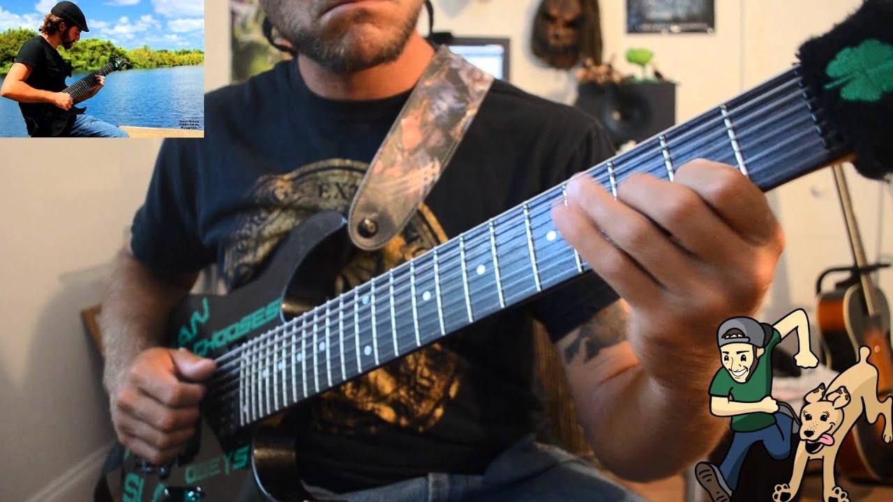 chrono trigger wind theme 8 string guitar chord melody youtube