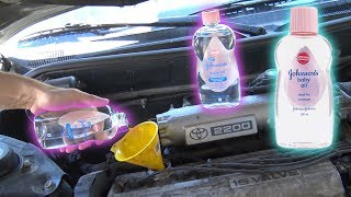 Can You Use BABY OIL as ENGINE OIL?