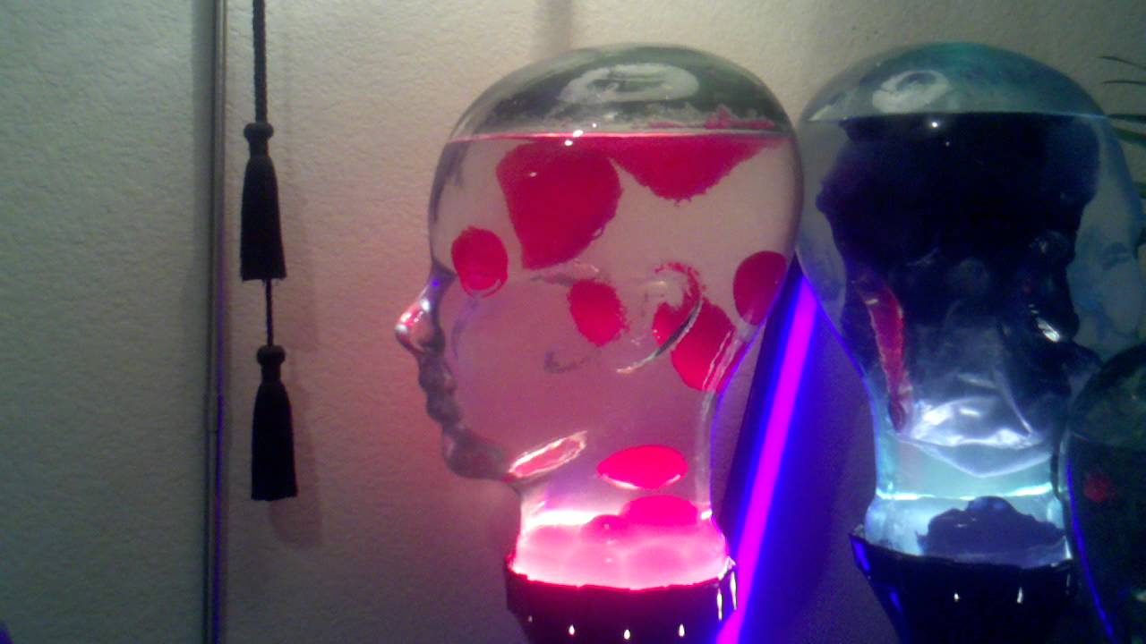 The Head Custom Lava Lamp   Pink   YouTube
