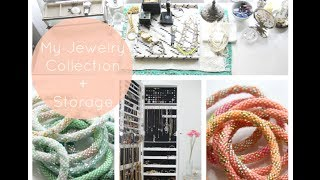 My Jewelry Collection + Storage! 2014 feat. The IKEA Malm Desk