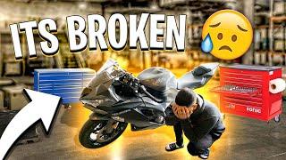 my-brand-new-2019-zx6r-broke-already-braap-vlogs