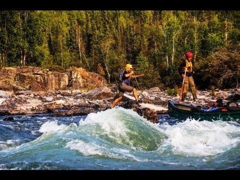 A Canoe Adventure Down The Yellowknife River, Northwest Territories, Canada