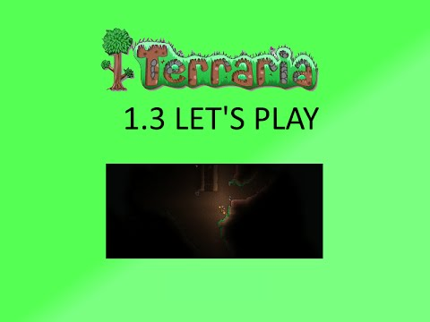 Terraria Let's Play #6 | Deathbringer Pickaxe!